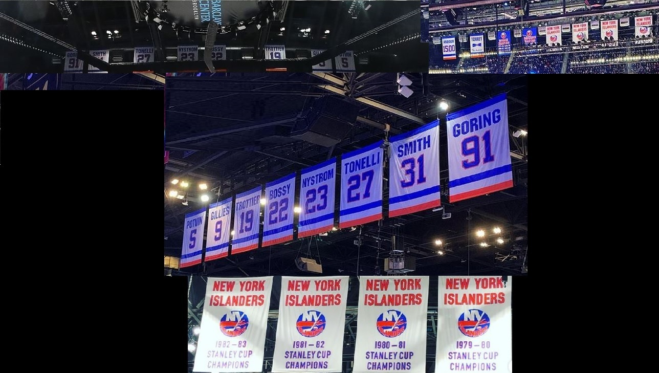 Banners, Stanley Cups