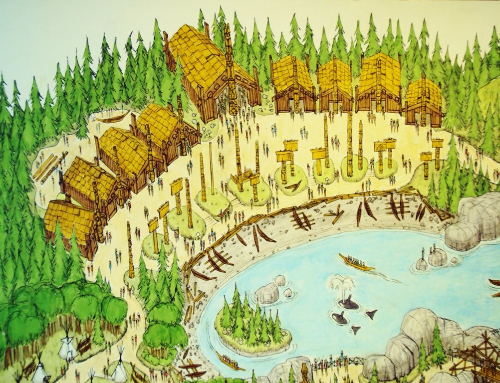 Longhouse: Native Indian Houses for kids ***