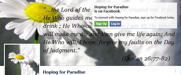 https://www.facebook.com/pages/Hoping-for-Paradise/1431380343797976