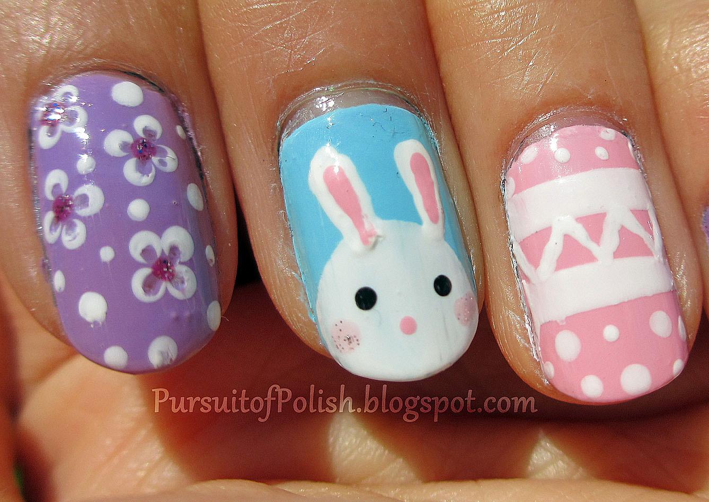 Pillecukor ♥: Húsvéti körömdíszítés / Easter nail art