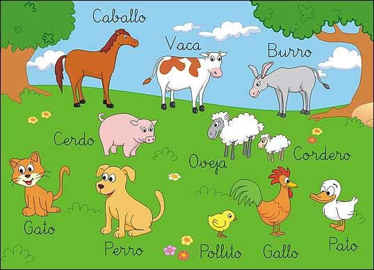TE CUENTO UN CUENTO: Animales de la granja para colorear