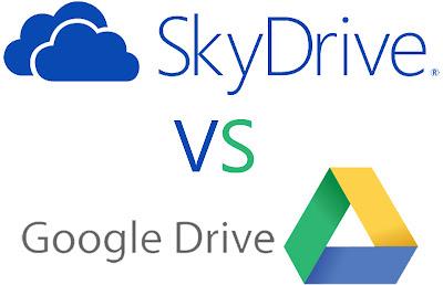 SkyDrive atau GDrive?