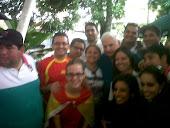 Con el presidente de Panamá