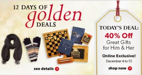 Chapters 12 Days of Golden Deals