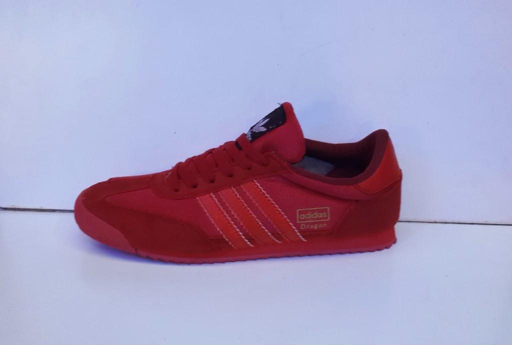 sepatu adidas merah, Adidas Dragon warna merah
