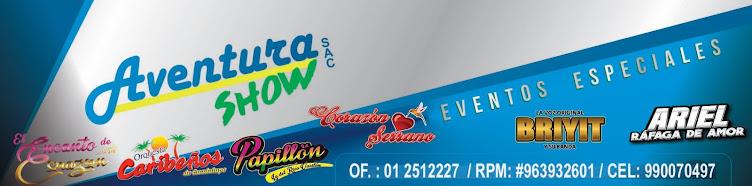 AVENTURA SHOW,Eventos,conciertos,presentaciones de cumbia,musica,..