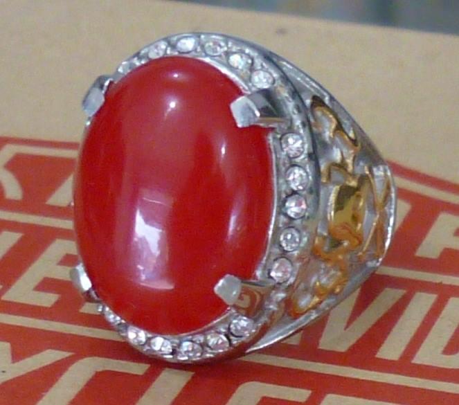 Batu Natural Giok Merah Spesial Big Size