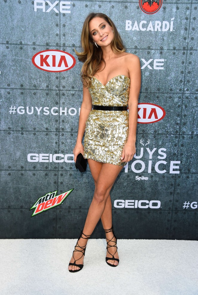 Hannah Davis – Spike TV's Guys Choice 2015 in Culver City