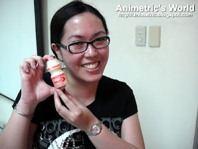 Animetric and Yakult