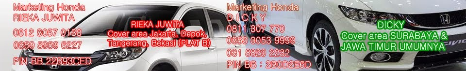 Dealer Mobil Honda Jakarta
