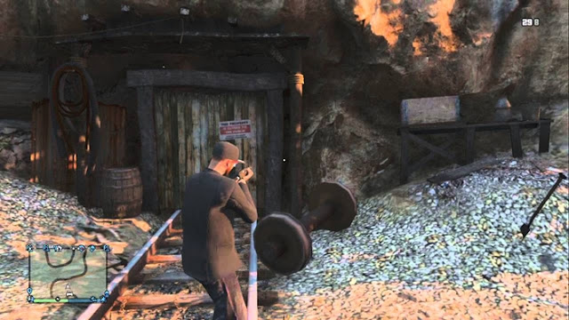 GTA V Abandoned Mine