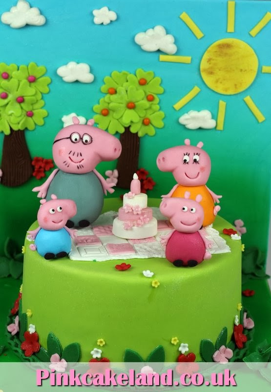 Birthday Cakes London Peppa Pig