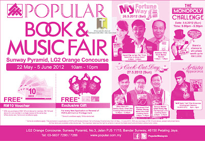 Popular Book & Music Fair 2012