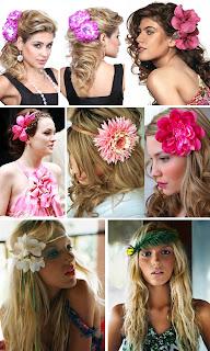 cabelos para baile do hawaii O que usar em um Baile do Hawaii...