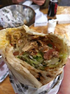 laffa shawarma
