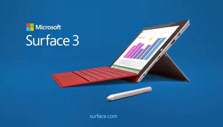 Microsoft | Surface 3 | Windows | Tablet | Laptop | Ultraportable