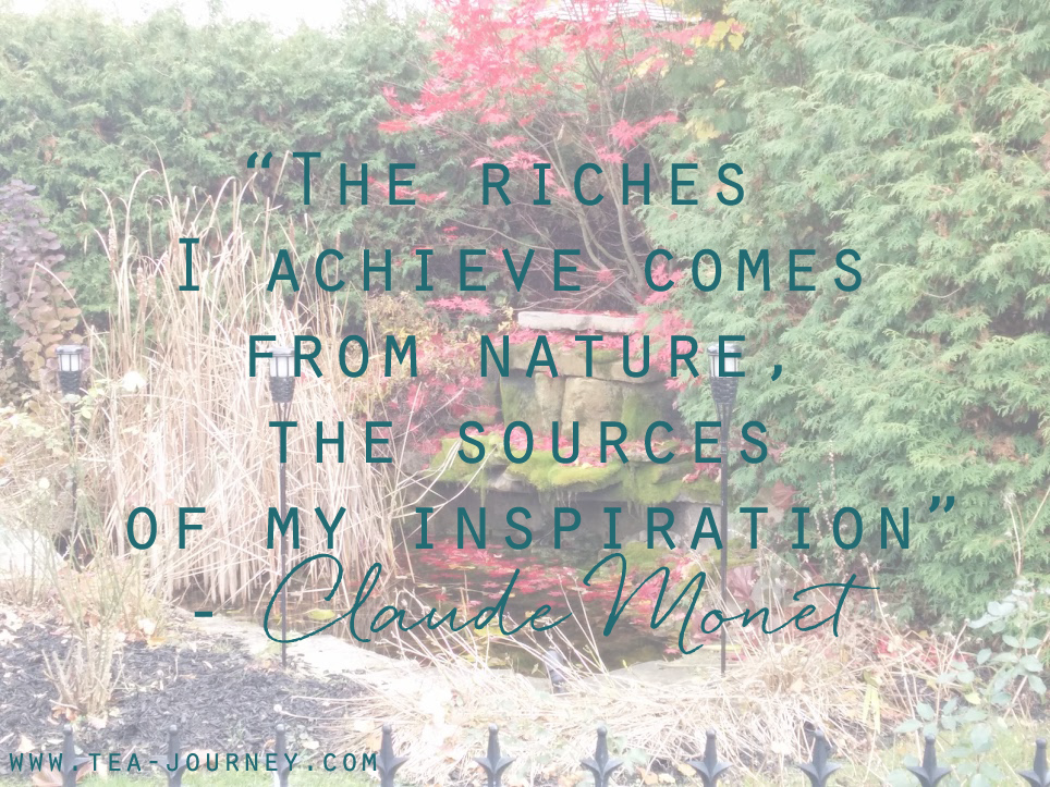 the riches i achieve comes from nature the sources of my inspiration claude money quotable life lessons