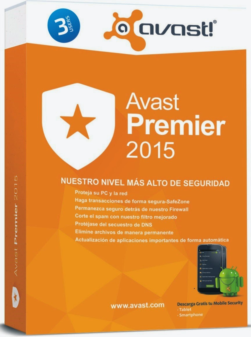 avast premier antivirus 2015 activation code