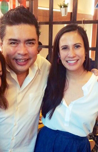 Spanky Enriquez and Stephanie Zubiri