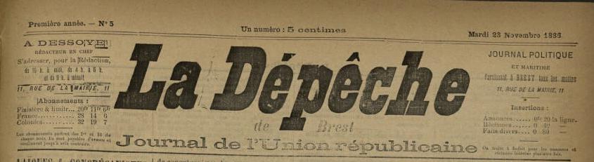 La dépêche de Brest