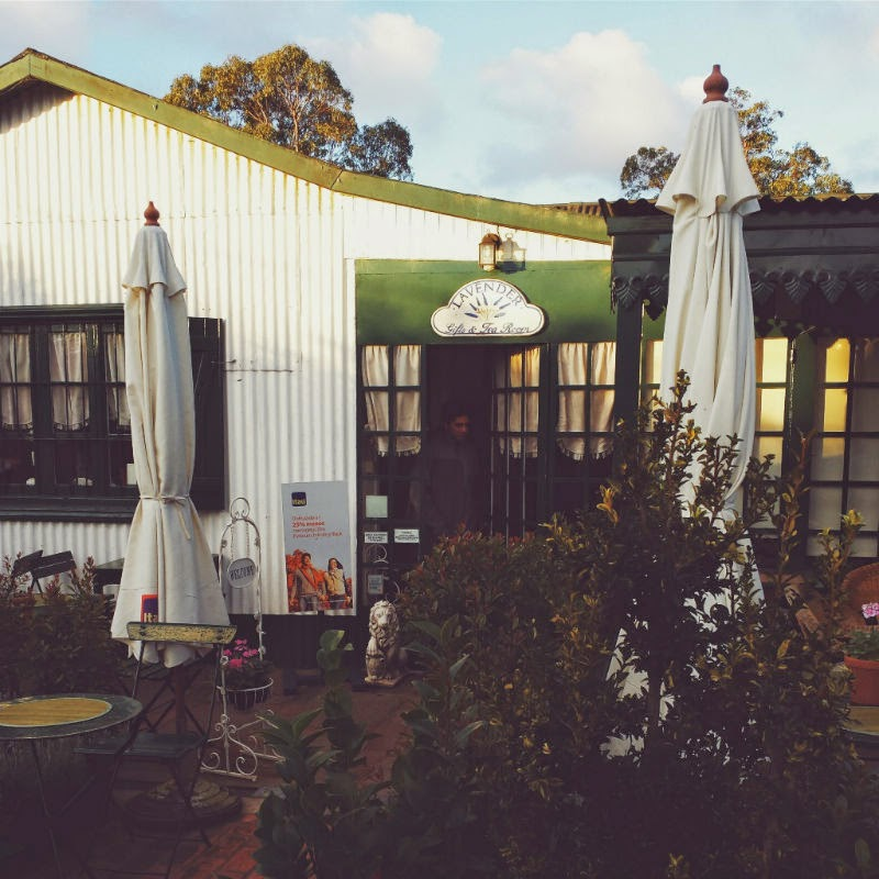 Casa de chá em Montevidéu