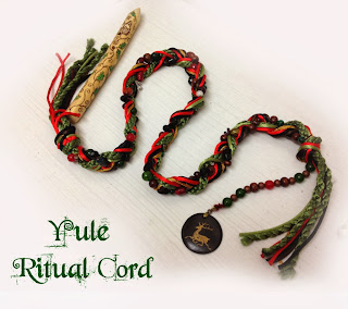 Yule Ritual Cord from Moonscrafts
