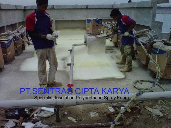Aplikasi Spray Polyurethane Foam
