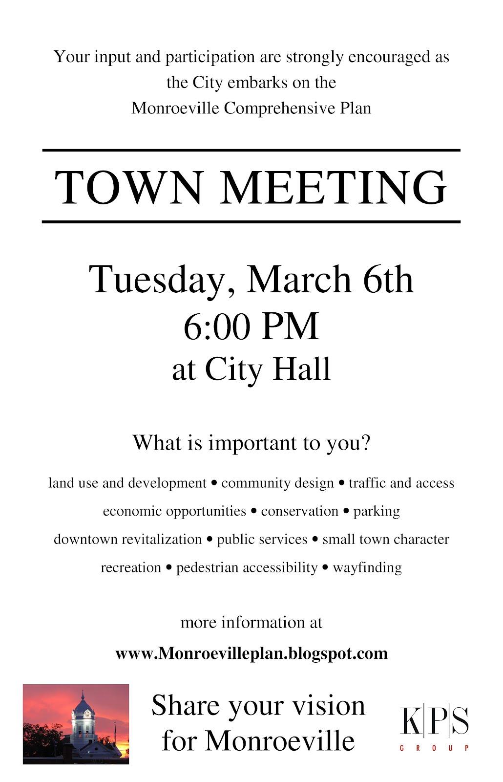 Monroeville Comprehensive Plan