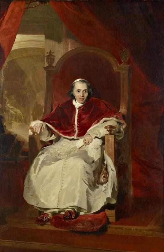 Sir Thomas Lawrence - Pope Pius VII (1742-1823)