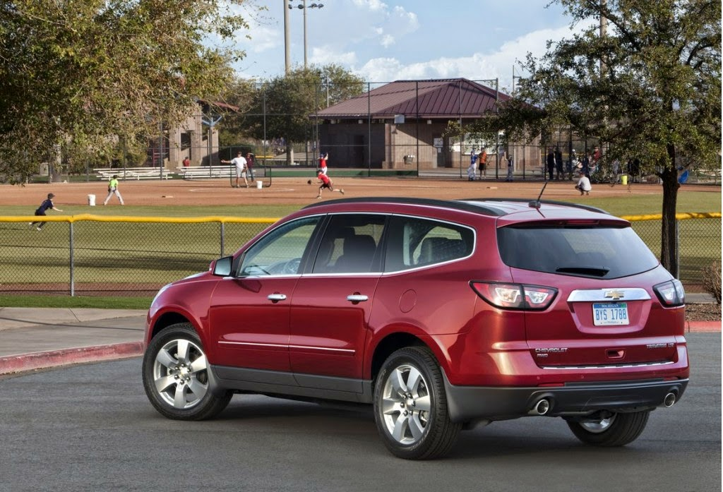 Chevy Traverse Earns Top Family Car from Parents Magazine