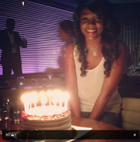 Photos: Genevieve Nnaji's birthday photos in the Uk