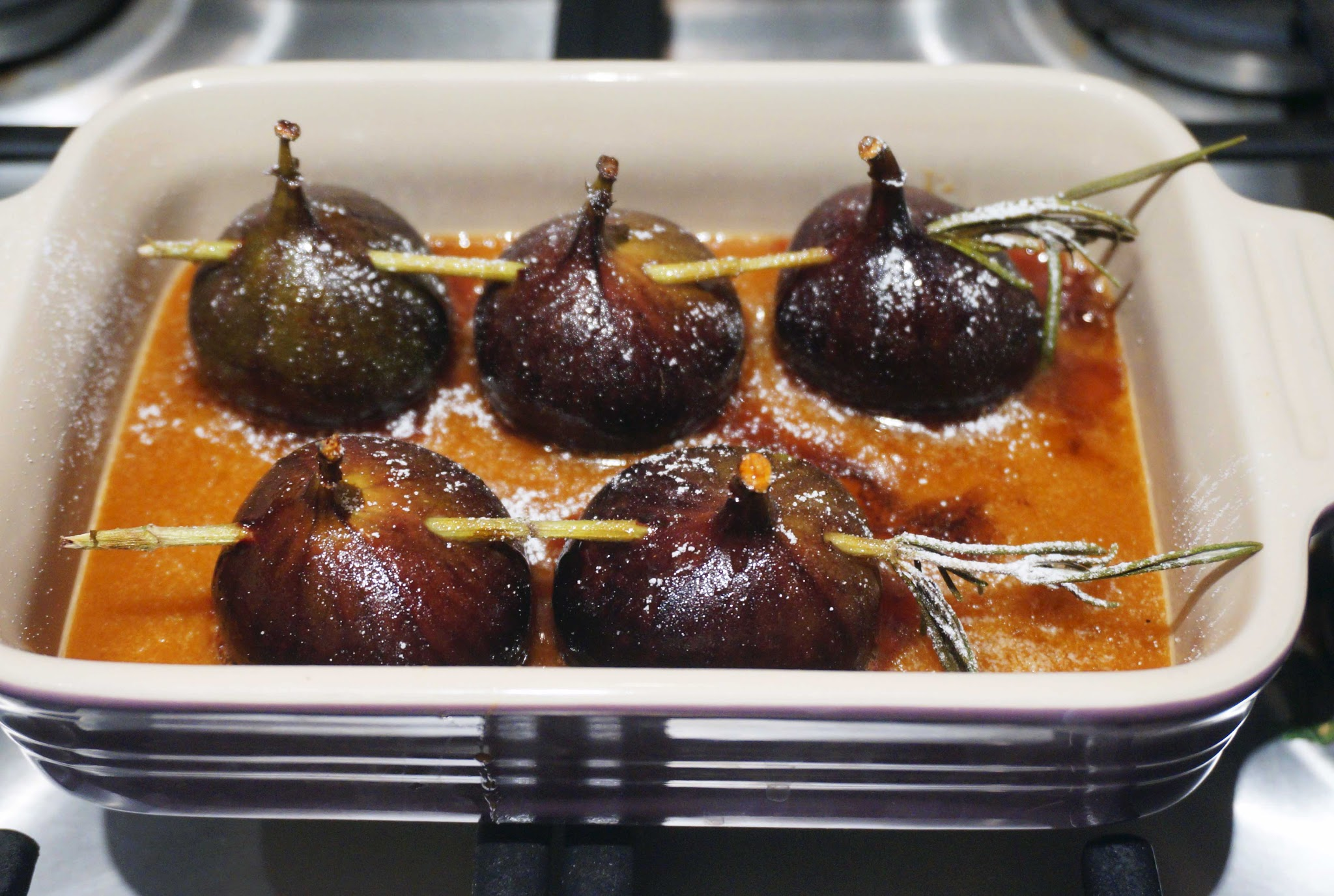 Gordon Ramsay caramelised figs