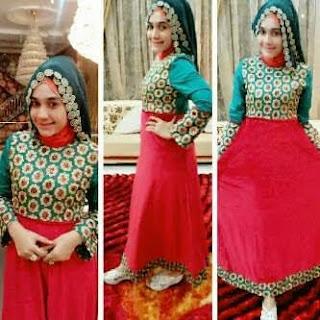Aneka baju gamis muslim desain dan model terbaru th 2015