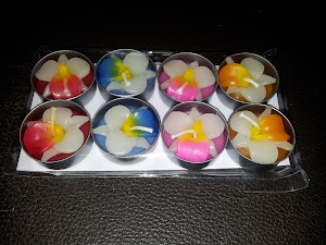 HANDMADE TEA LIGHT CANDLES