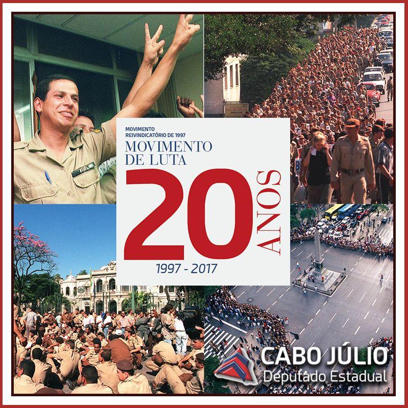 20 ANOS DO MOVIMENTO REIVINDICATÓRIO DE 1997