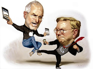 konflik google dan apple