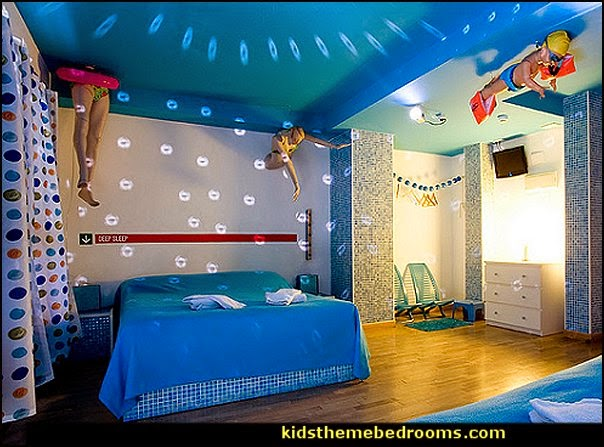 Decorating theme bedrooms maries manor swimming pool for Swimming pool room decor