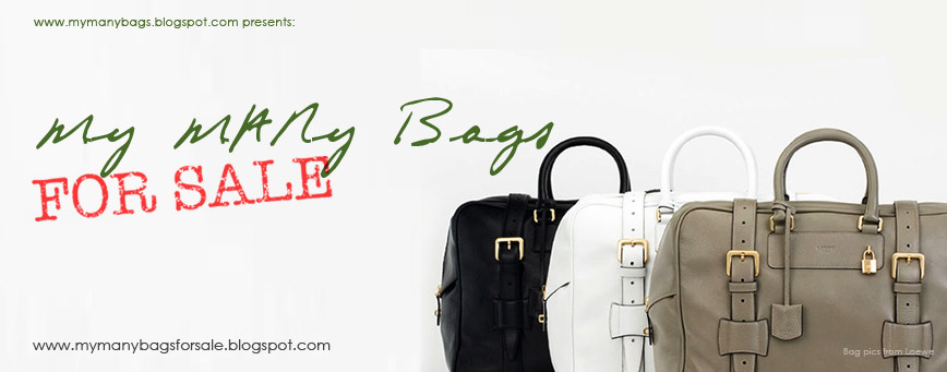 My MANy Bags FOR SALE