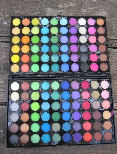 BH Cosmetics 120 Palette 2nd & 3rd Edition - YouTube