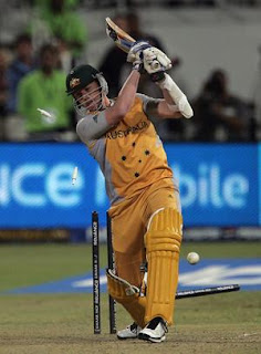 Brett Lee Batting
