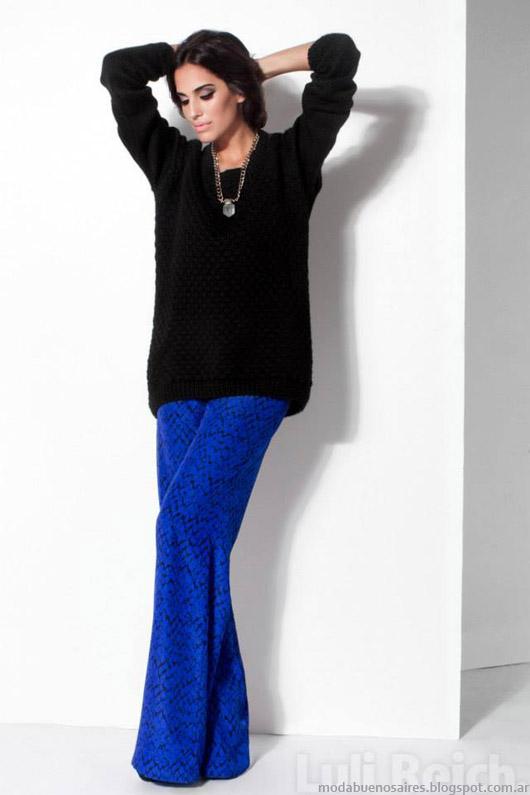 Sweaters de moda invierno 2014 Luli Reich.