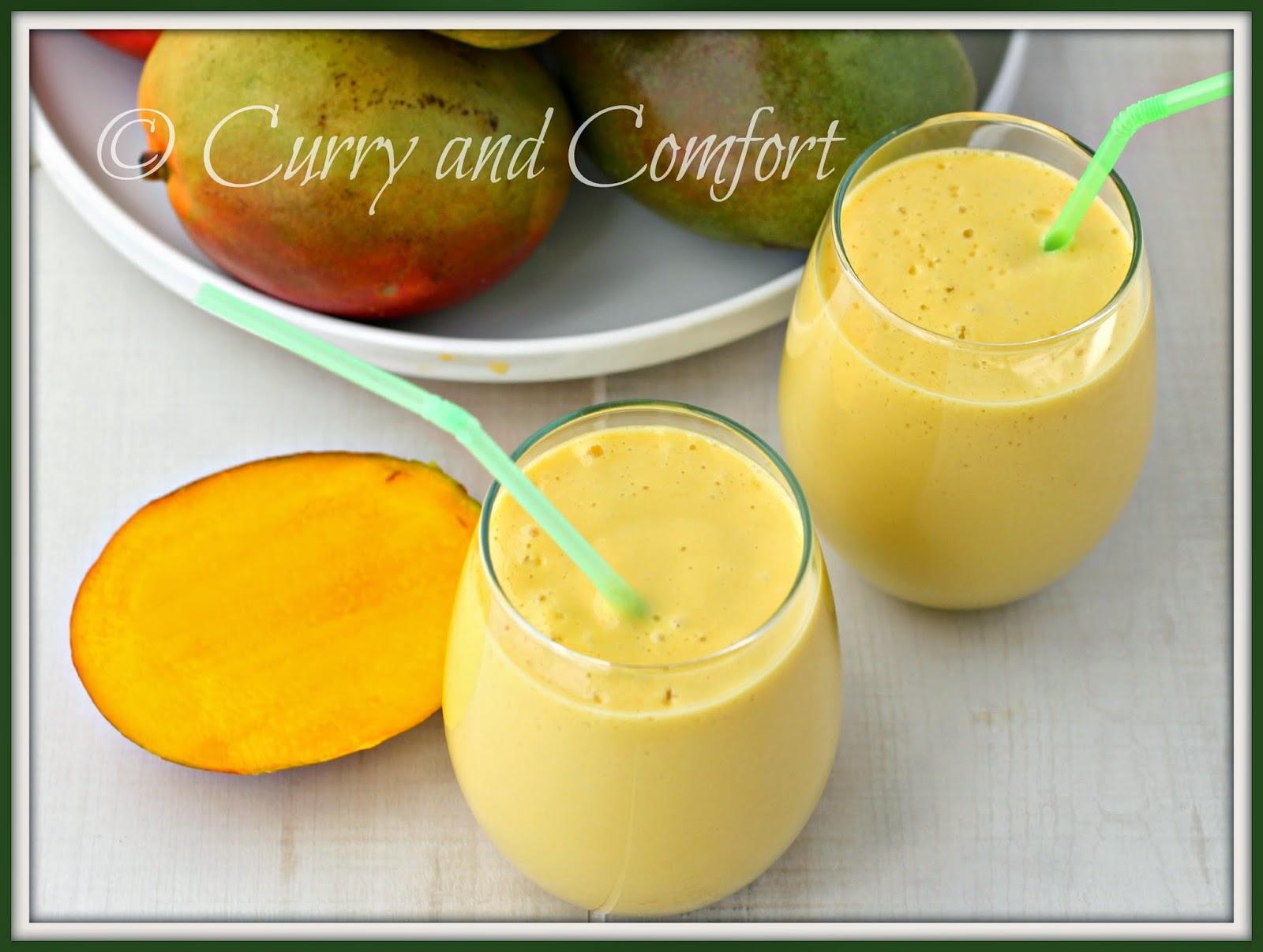 Kitchen Simmer: Mango Lassi (Mango Smoothie)- Throwback Thursday