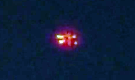 Glowing Red UFO Caught Over Mexico 2015, UFO Sightings