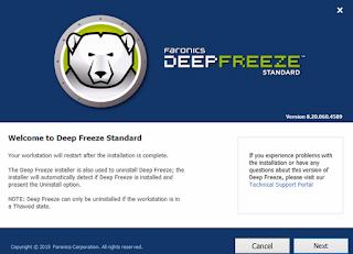Deep Freeze Standard 8.20.020.4589 Include Full KeyGen [Latest]