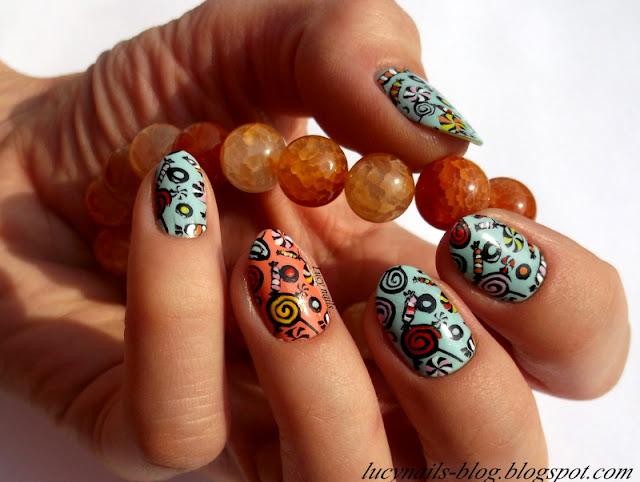 Słodkości na paznokciach