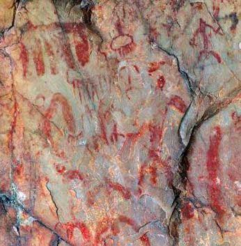 peintures rupestres de las batuecas