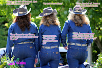 TG Captions: Cowgirls having fun
