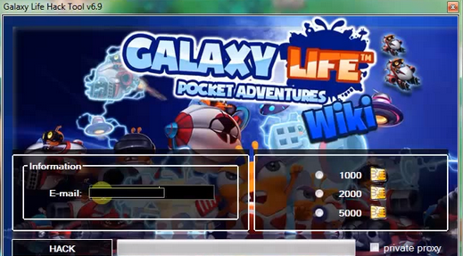 Galaxy Life Hack and Cheat Tool Features: