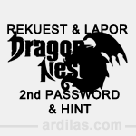 Cara Request & Laporan Hint & 2nd Password - Dragon Nest