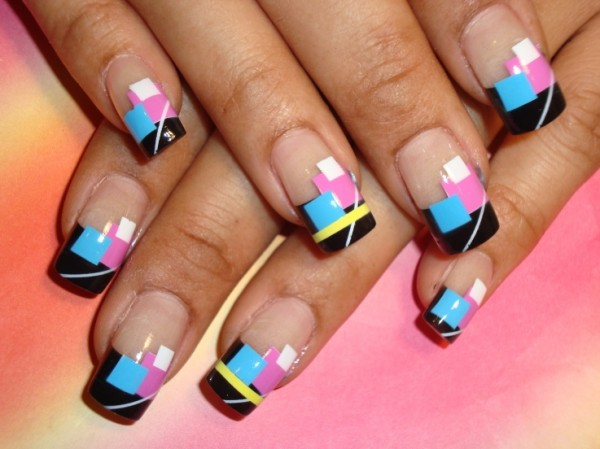 unique nail art 2011